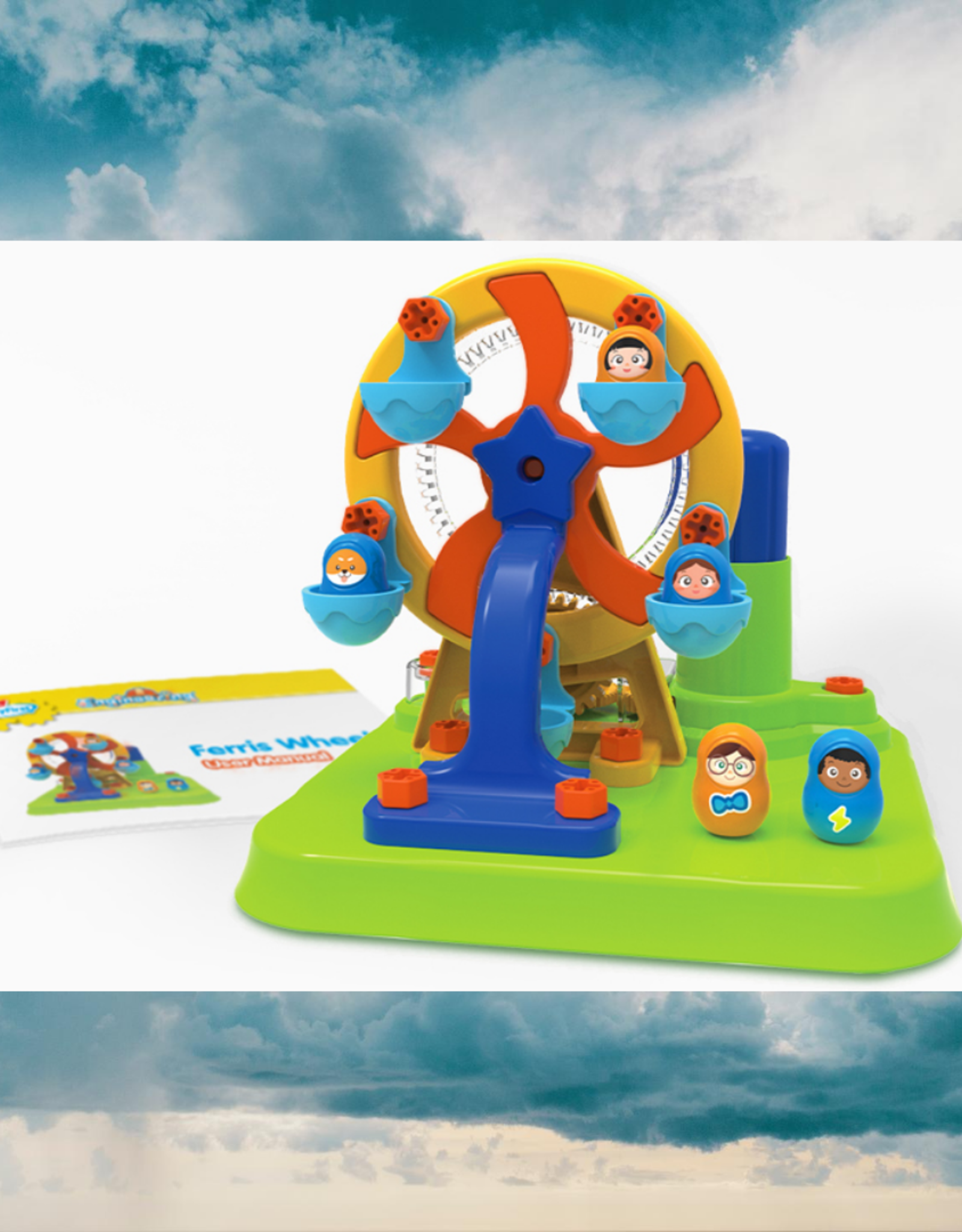 EDUTOYS EDUTOYS MY FIRST ENGINEERING: FERRIS WHEEL