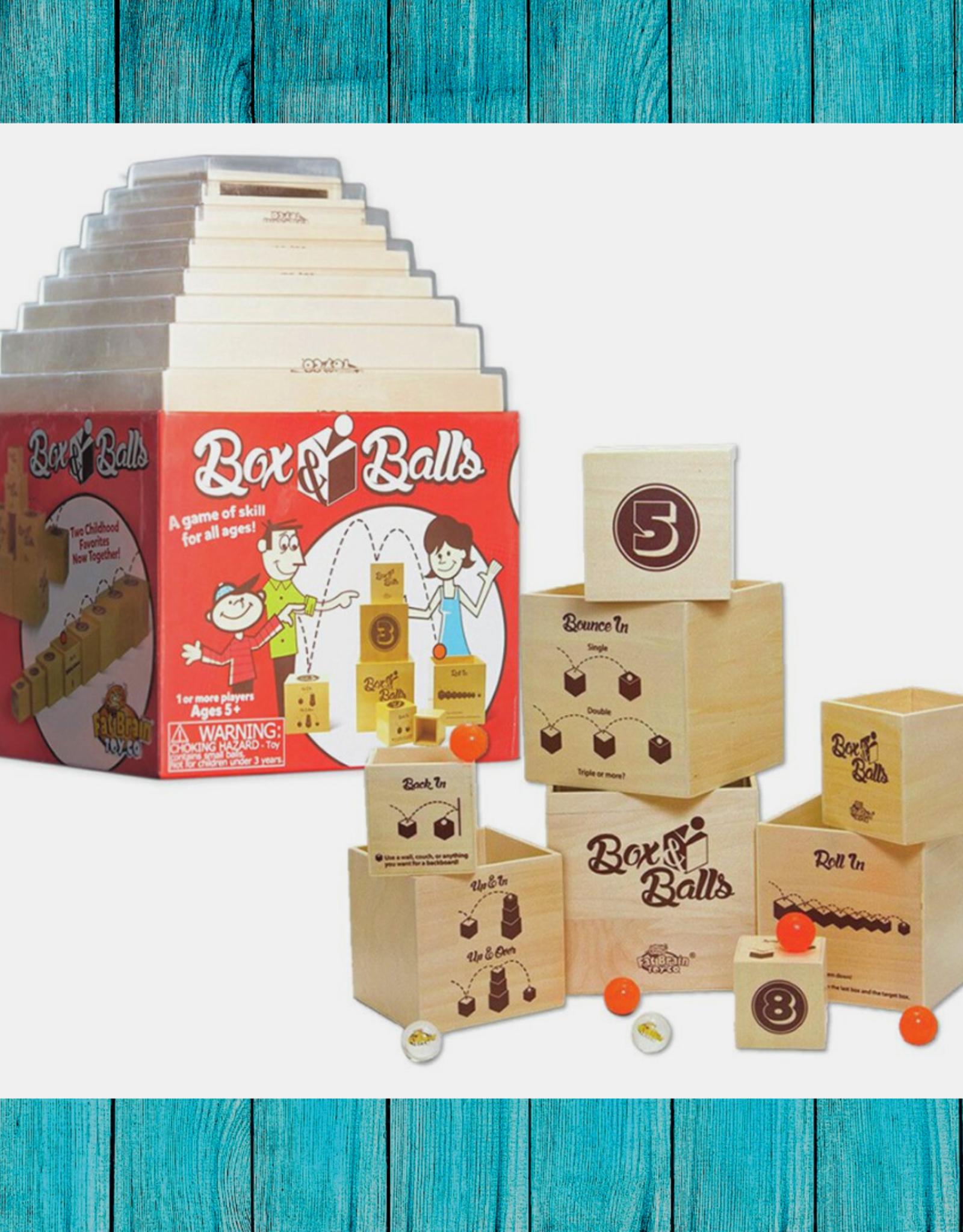 BOX & BALLS