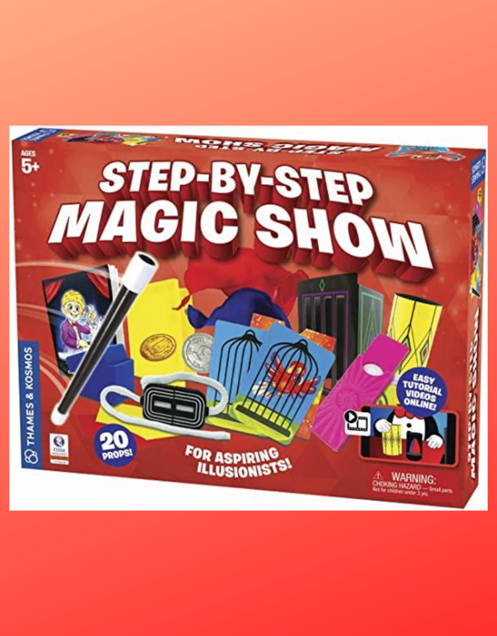 STEP BY STEP MAGIC SHOW