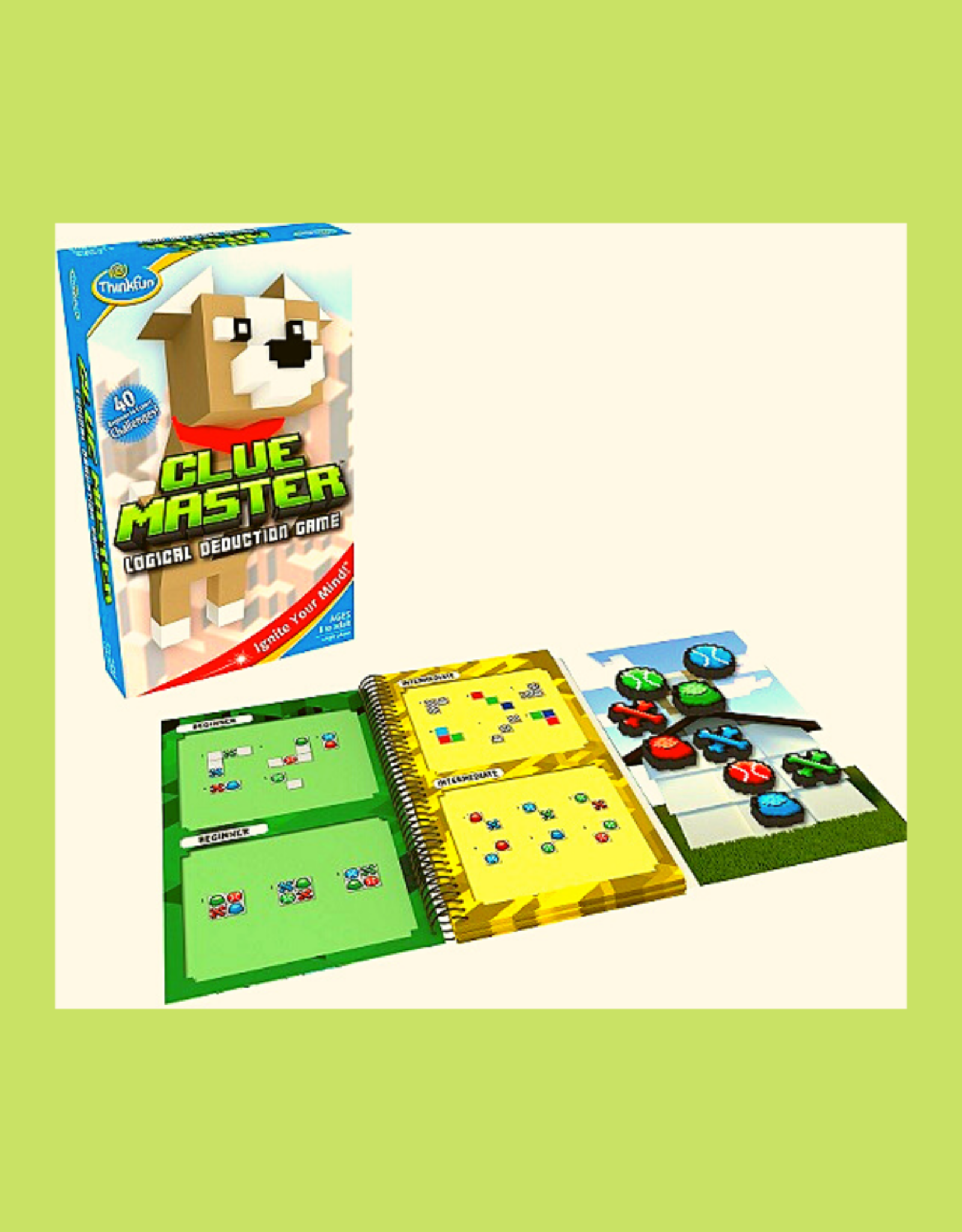 THINK FUN CLUE MASTER DOG