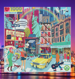 EEBOO NEW YORK CITY LIFE PUZZLES 1000 PC