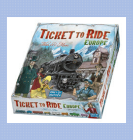 EUROPE TICKET TO RIDE