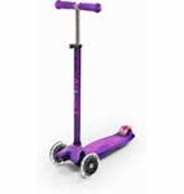 MICROSCOOTER MAXI MICRO LED PURPLE SCOOTER