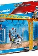 PLAYMOBIL RC CRANE W/ BUILDING SECTION