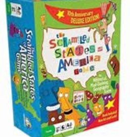 GAMEWRIGHT CEACO SCRAMBLED STATES GAME