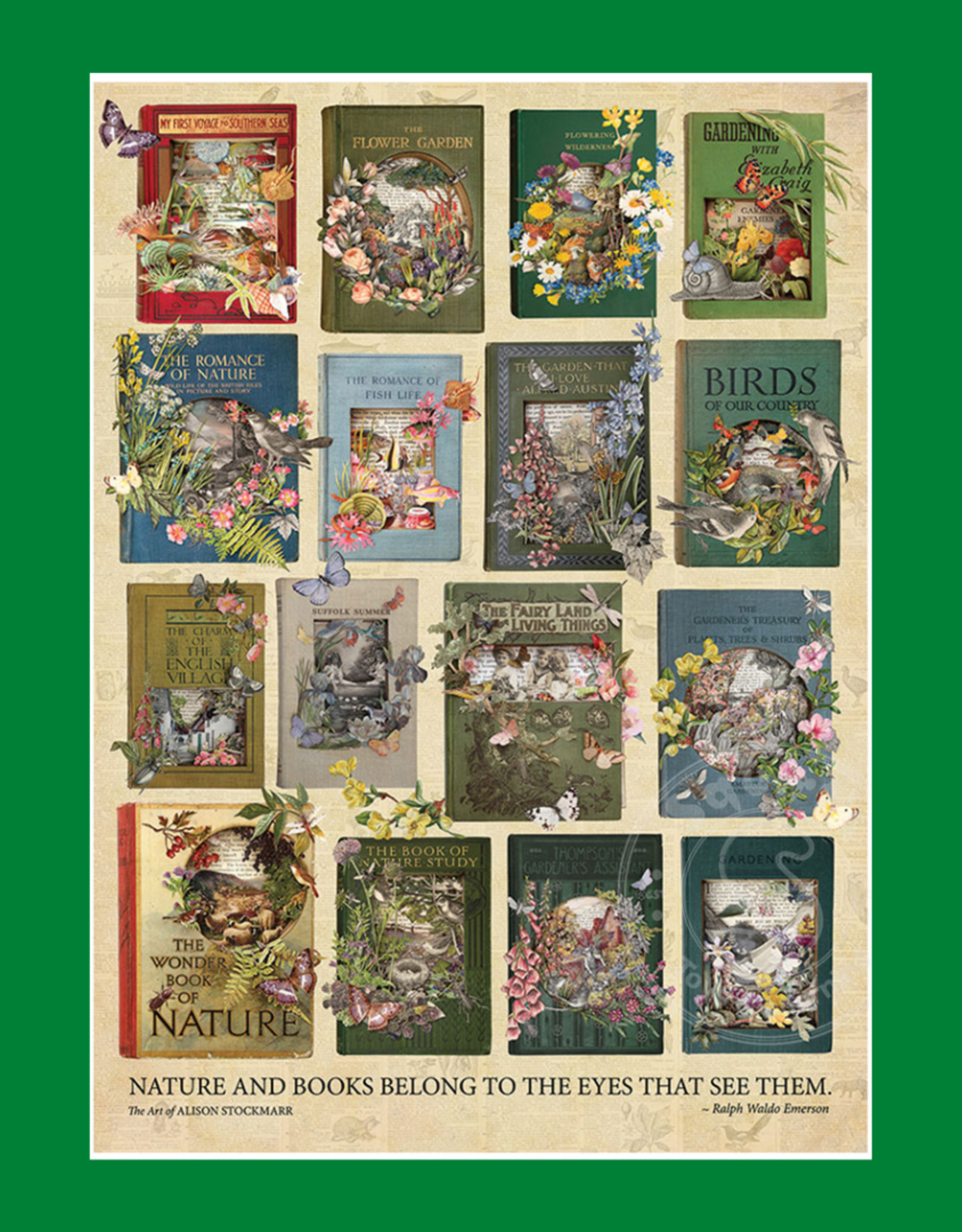 THE NATURE OF BOOKS PUZZLE