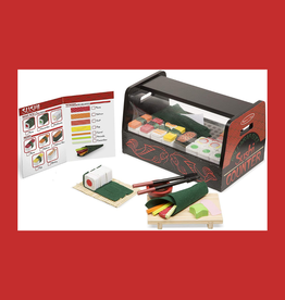MELISSA & DOUG ROLL, WRAP, & SLICE SUSHI COUNTER