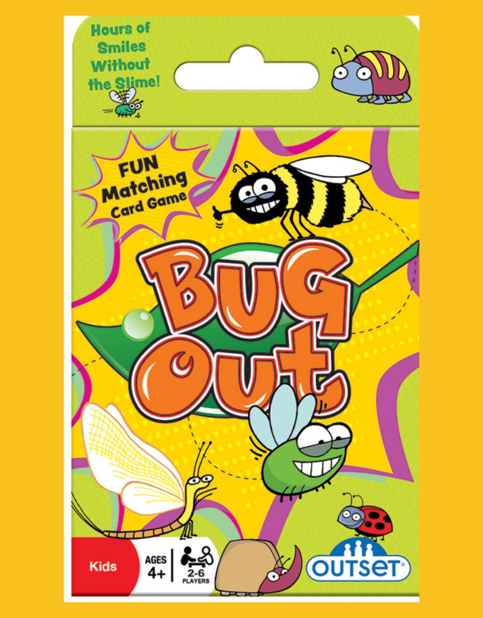 OUTSET MEDIA BUG OUT CARD GAME