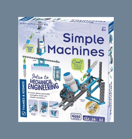STEM EXPERIMENT KIT THAMES & KOSMOS SIMPLE MACHINES