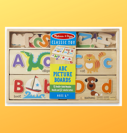 MELISSA & DOUG ABC PICTURE BOARD