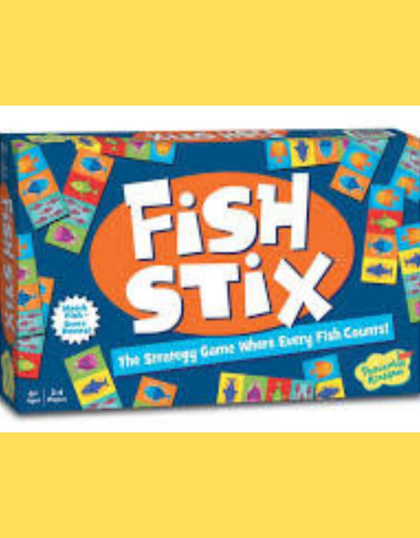 PEACEABLE KINGDOM MINDWARE FISH STIX GAME