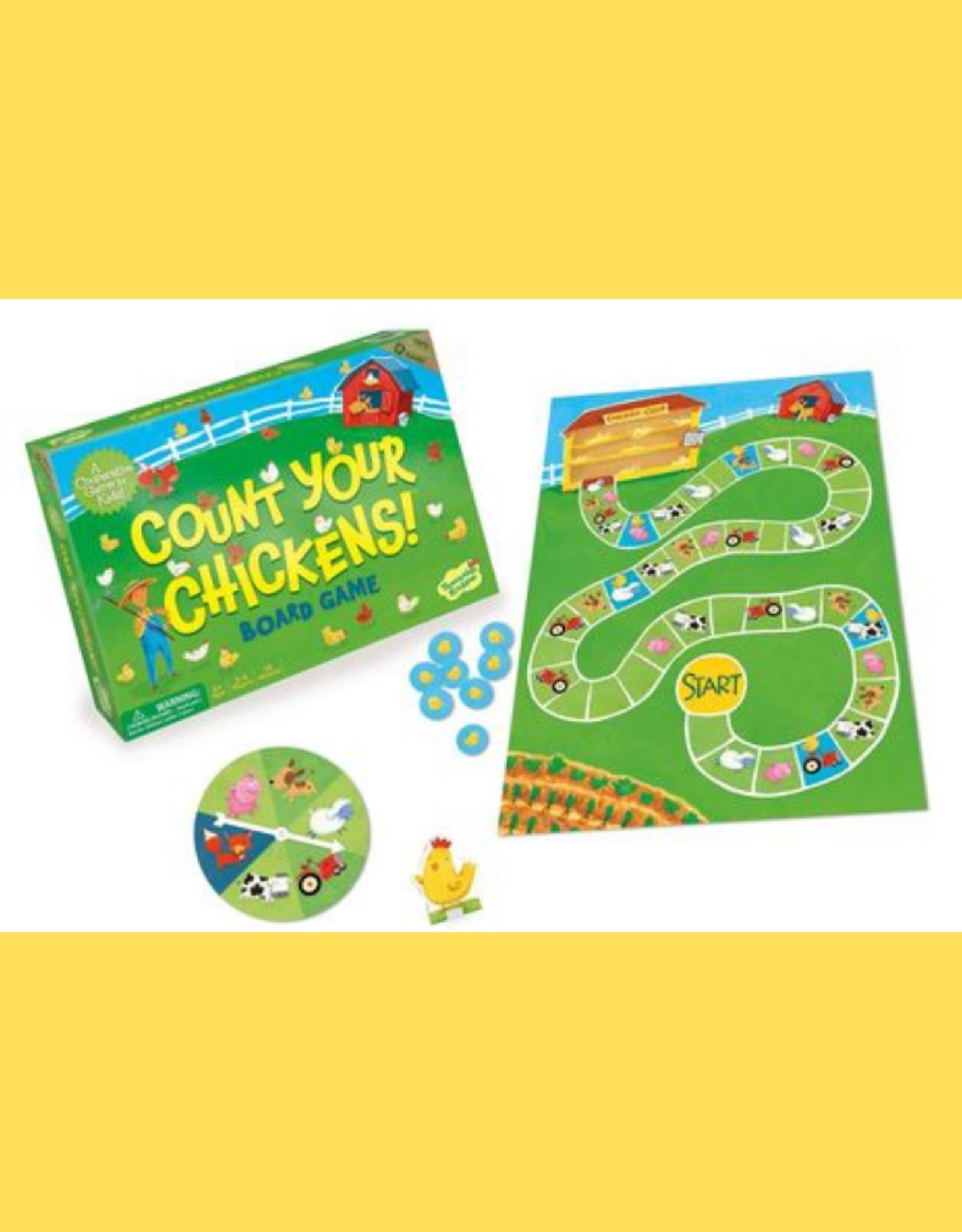 PEACEABLE KINGDOM MINDWARE COUNT YOUR CHICKENS