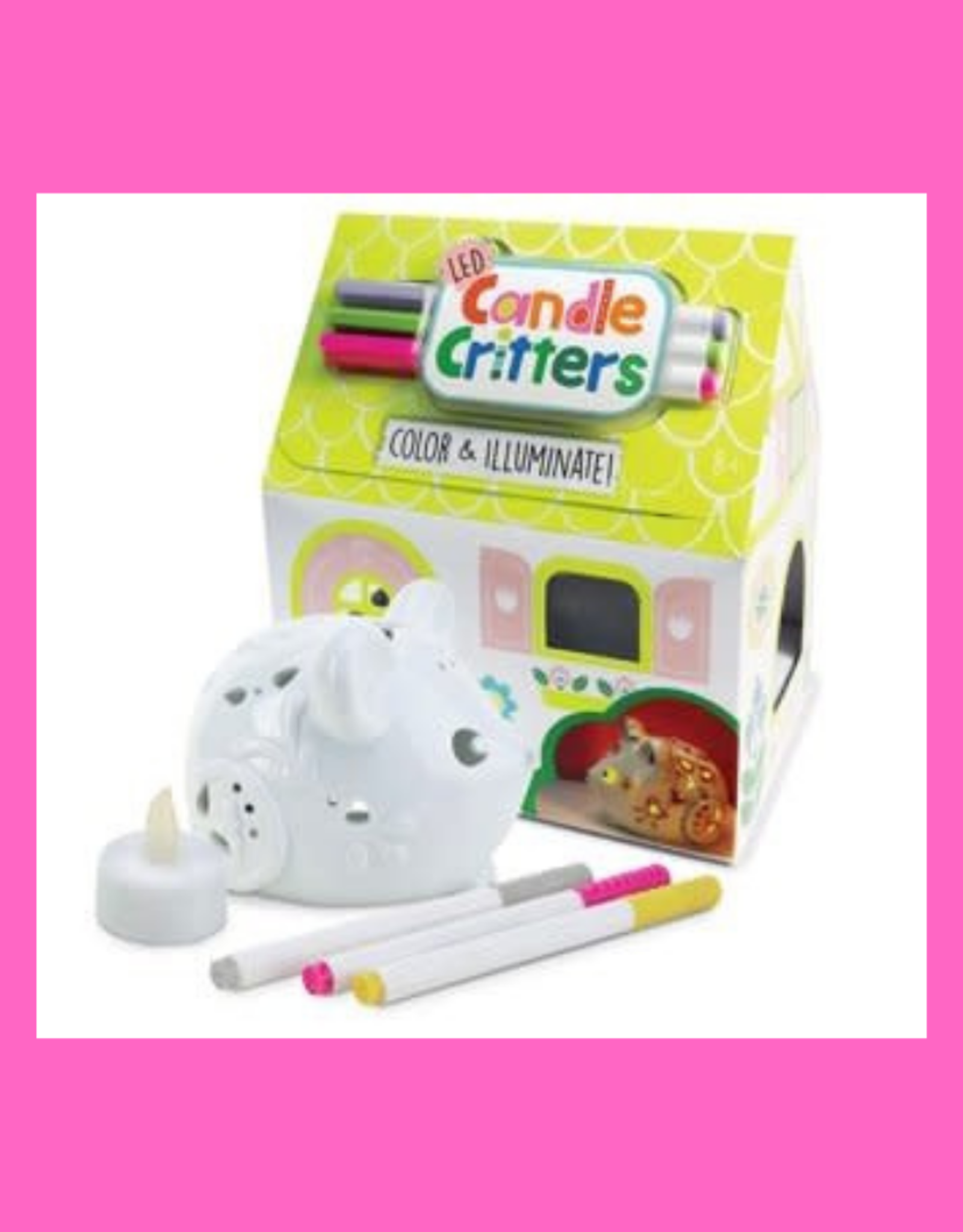 BRIGHT STRIPES CANDLE CRITTERS LED MOUSE