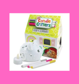 BRIGHT STRIPES CANDLE CRITTER LED MOUSE