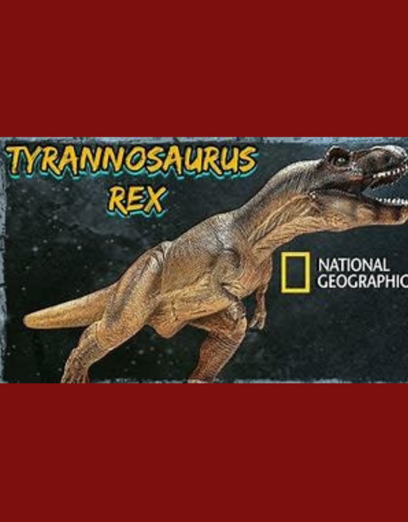 """NATIONAL GEOGRAPHIC T-REX 30"""" XL"""