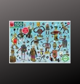 PUZZLE 100 PC UPCYCLED ROBOTS
