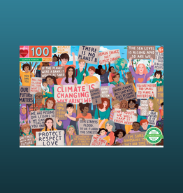 EEBOO CLIMATE MARCH PUZZLES 100 PC