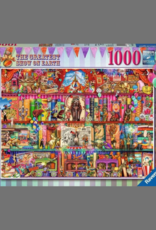 PUZZLE 1000PC RAVENSBURGER THE GREATEST SHOW ON EARTH