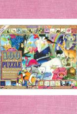 PUZZLE PUZZLES PUZZLE 100 PC NATURAL SCIENCE