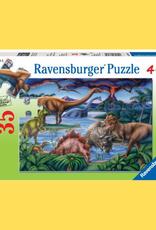 PUZZLE 35PC RAVENSBURGER  DINOSAUR PLAYGROUND