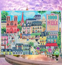 PUZZLE PUZZLES PUZZLE 1000 PC  PARIS IN A DAY