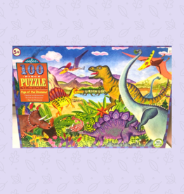 PUZZLE PUZZLES PUZZLE 100 PC AGE OF THE DINOSAUR