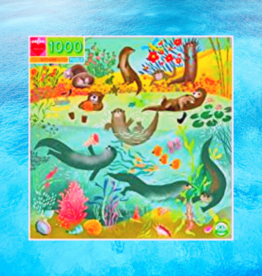 EEBOO OTTERS PUZZLE 1000 PC