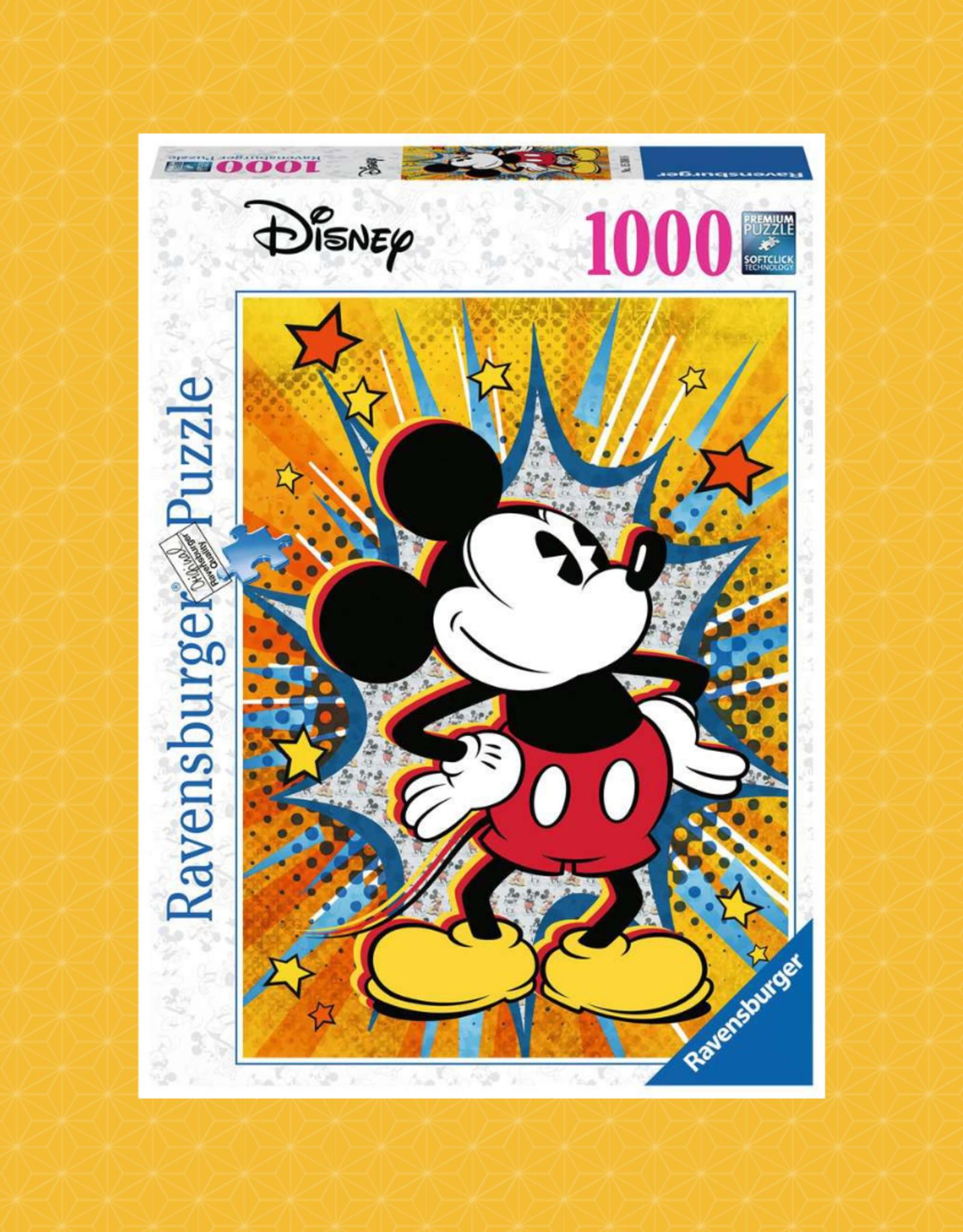 RAVENSBURGER RETRO MICKEY PUZZLE 1000PC