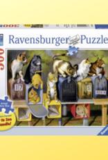 RAVENSBURGER LARGE PIECE FORMAT 300PC RAVENSBURGER CAT'S GOT MAIL