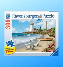 RAVENSBURGER SUNLIT SHORE LARGE PIECE FORMAT PUZZLE 300PC