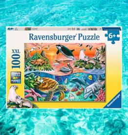 RAVENSBURGER PUZZLE 100PC RAVENSBURGER BEAUTIFUL OCEAN