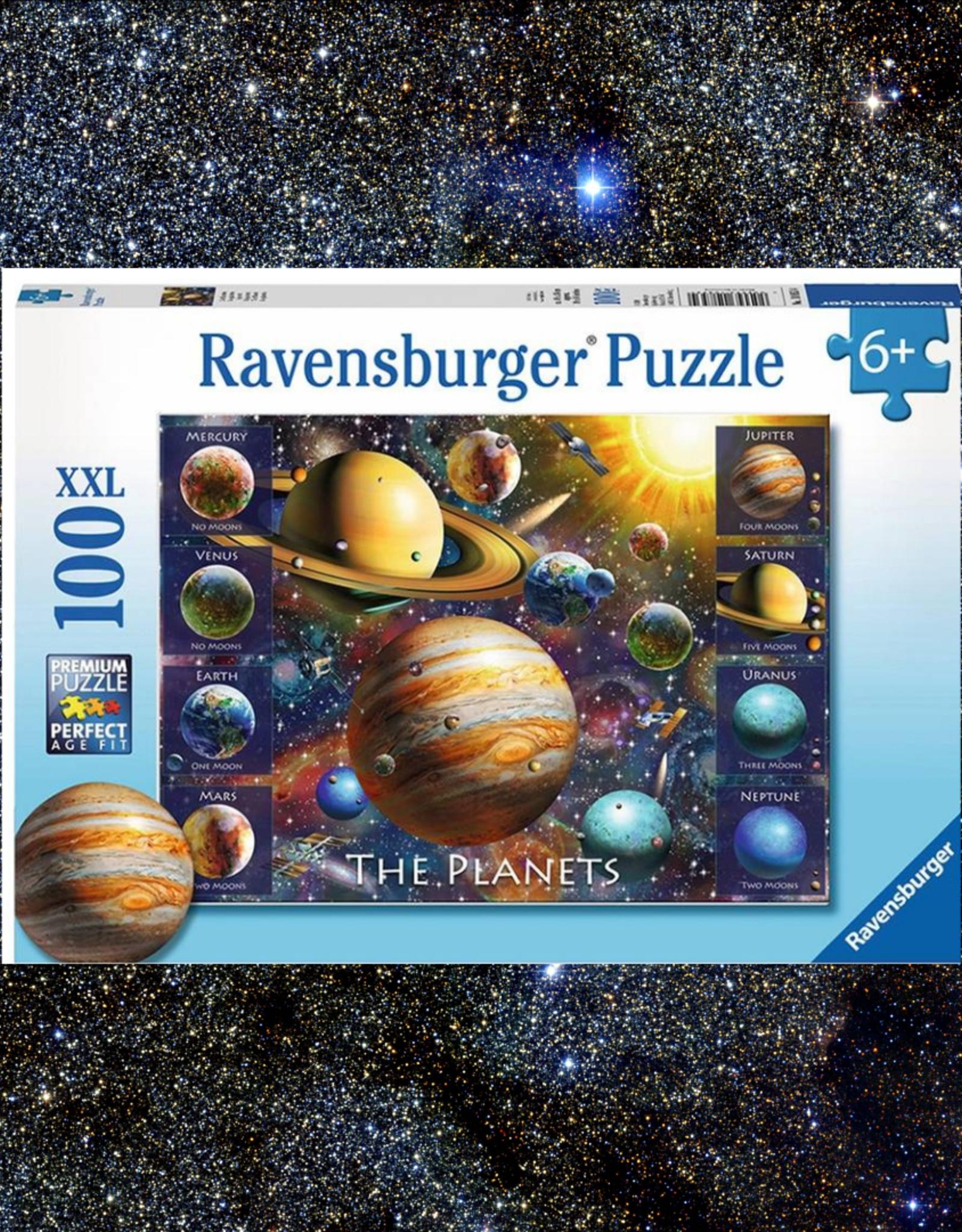 RAVENSBURGER PUZZLE 100PC RAVENSBURGER THE PLANETS