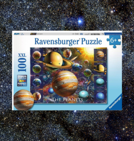 RAVENSBURGER THE PLANETS PUZZLE 100PC