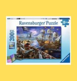 RAVENSBURGER PUZZLE 200PC RAVENSBURGER BLACKBEARD'S BATTLE