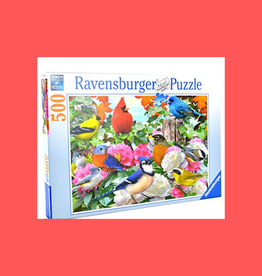 RAVENSBURGER GARDEN BIRDS PUZZLE 500PC
