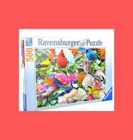 RAVENSBURGER PUZZLE 500PC RAVENSBURGER GARDEN BIRDS