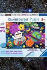 FLOOR PUZZLE 24PC RAVENSBURGER SPACE ROCKET