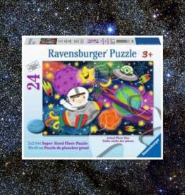 RAVENSBURGER FLOOR PUZZLE 24PC RAVENSBURGER SPACE ROCKET