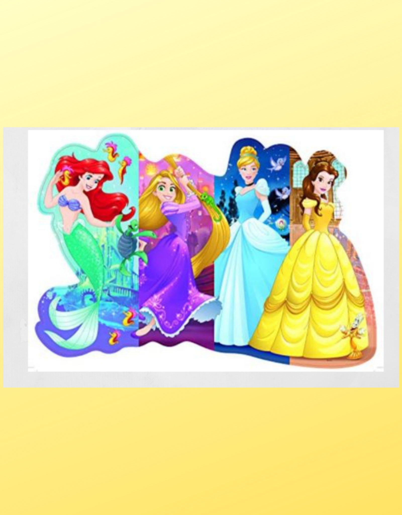 RAVENSBURGER DISNEY FLOOR PUZZLE 24PC PRETTY PRINCESSES