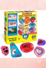 CREATIVITY FOR KIDS ROCK PAINTING KIT HIDE & SEEK