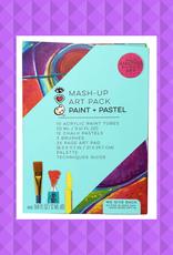 BRIGHT STRIPES MASH UP ART PACK PAINT & PASTEL
