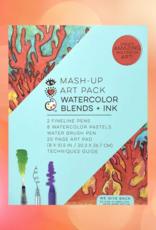 MASH UP ART PACK WATER COLOR BLENDS + INK