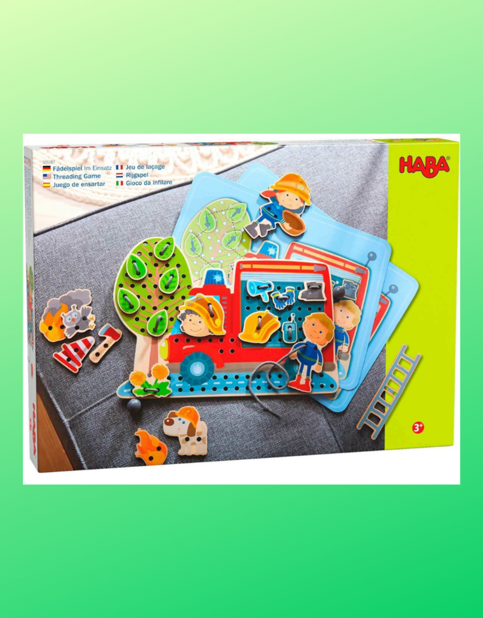 HABA IN ACTION THREADING GAME