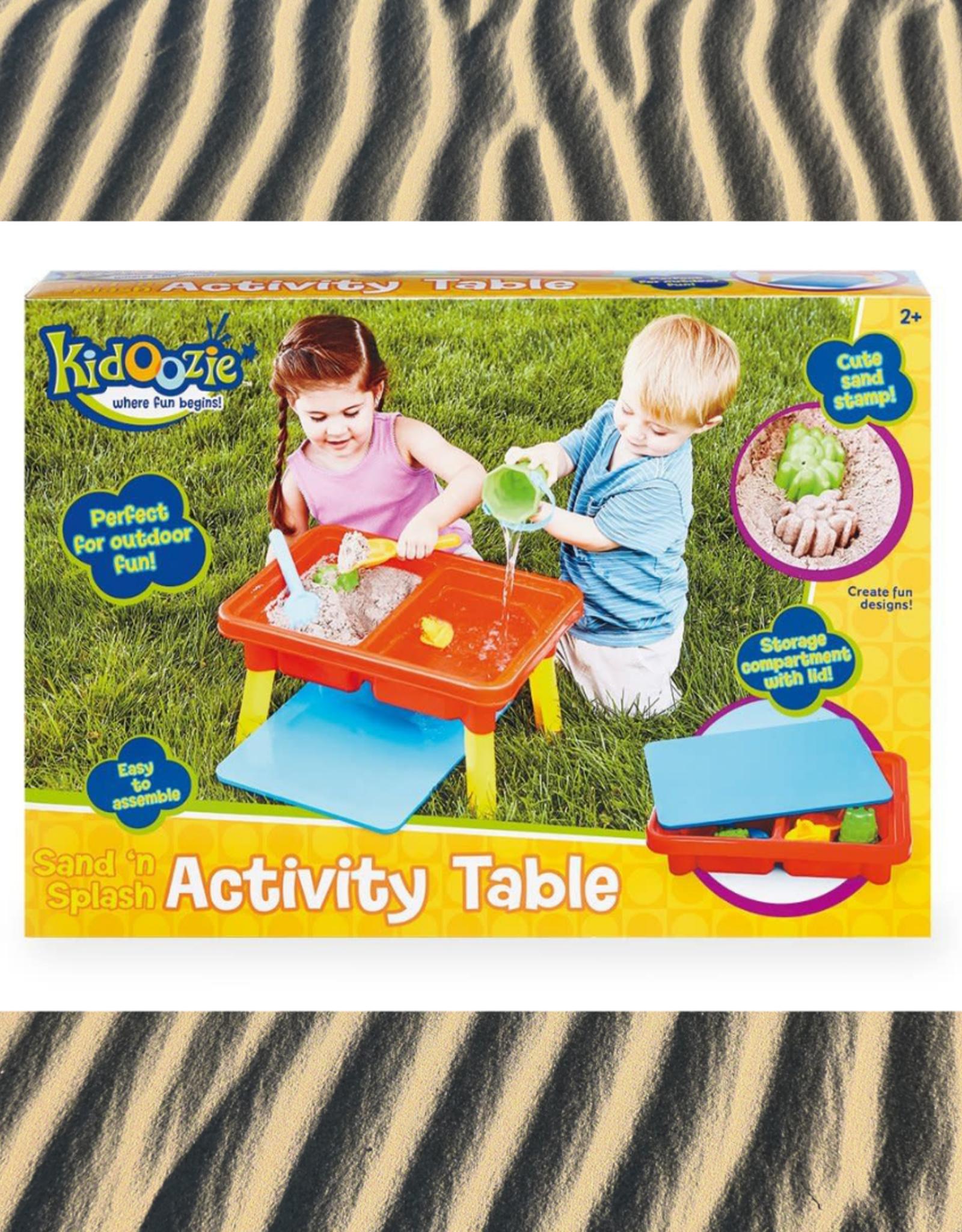 KIDOOZIE SAND N SPLASH ACTIVITY TABLE