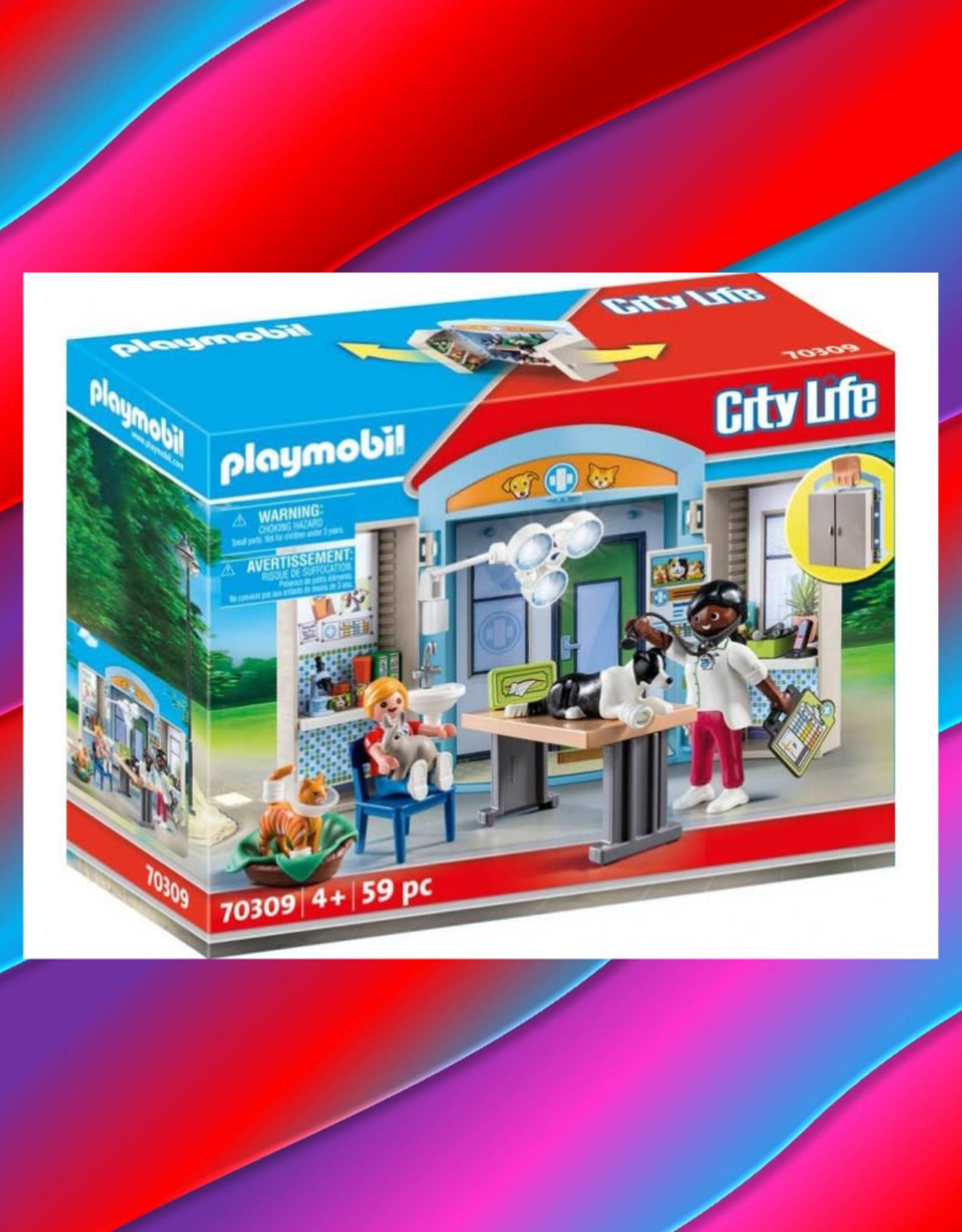 PLAYMOBIL VET CLINIC PLAY BOX