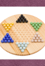 ORIGINAL TOY CHINESE CHECKERS WOODEN BOARD
