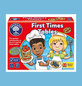 ORCHARD TOYS FIRST TIMES TABLES