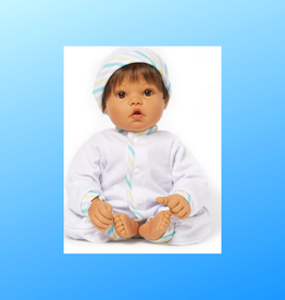 MADAME ALEXANDER Baby Face Medium Skin Tone/Brown Eyes/Brown Hair 19