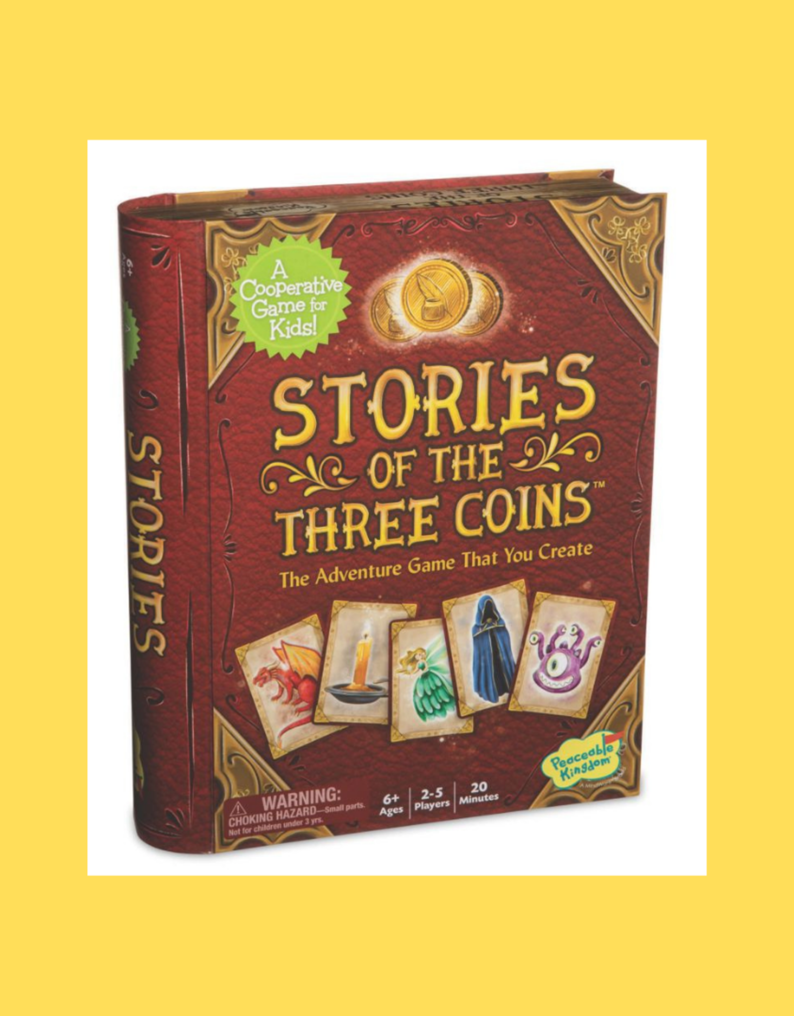 PEACEABLE KINGDOM MINDWARE STORIES OF THE THREE COINS