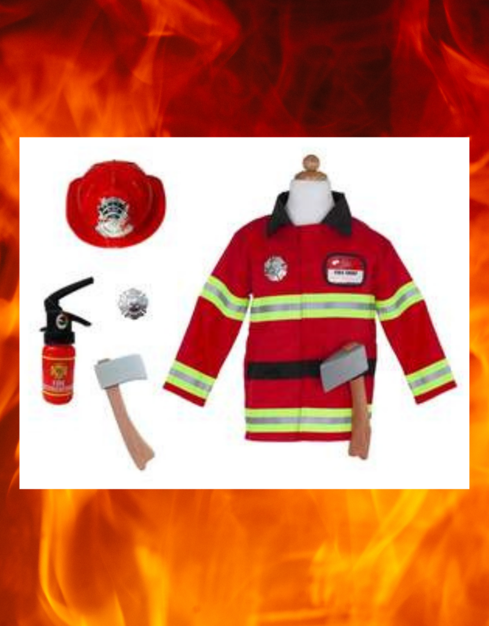 CREATIVE EDUCATION OF CANADA / GREAT PRETENDERS FIREFIGHTER  5 PC